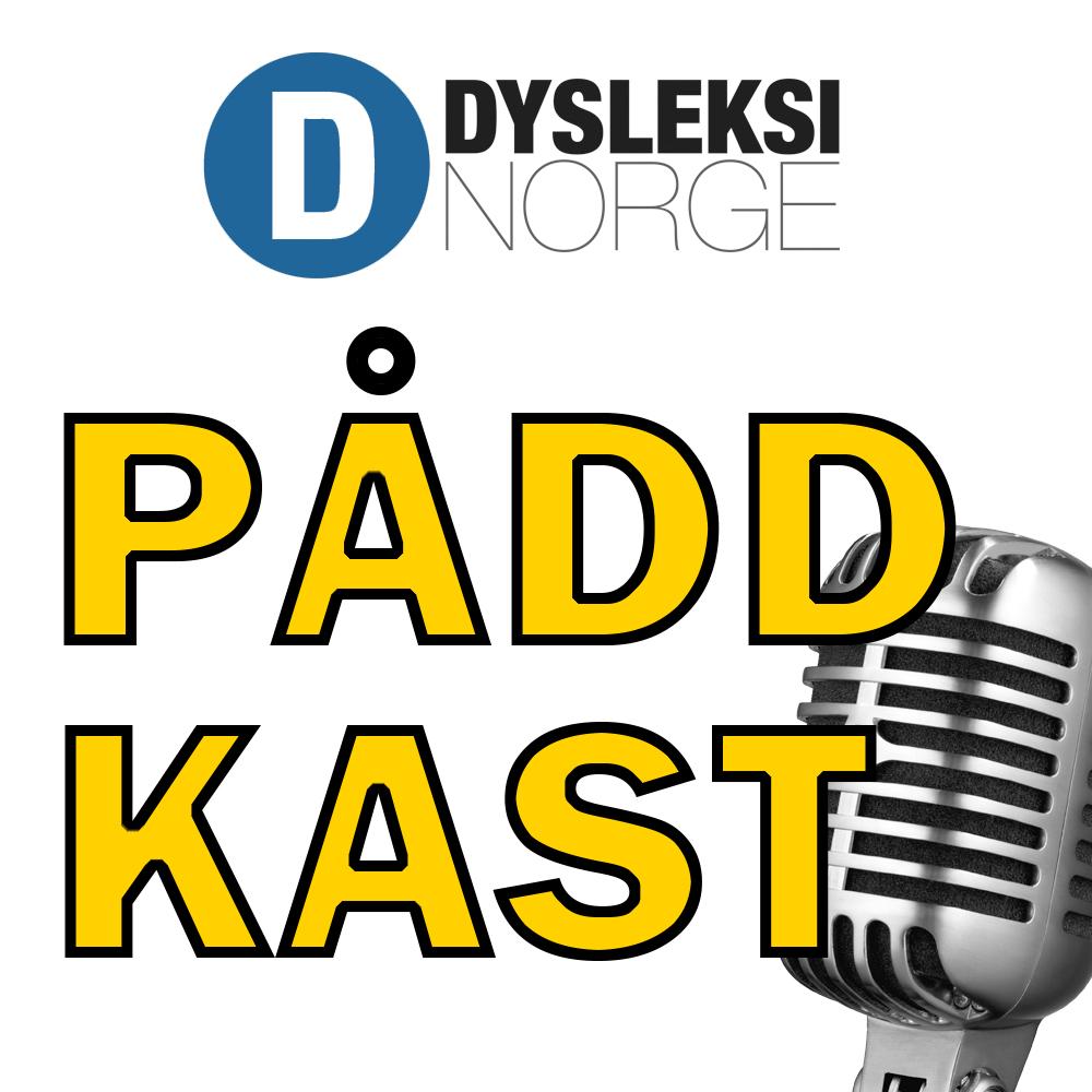 Logoen til Dysleksi Norges Påddkast