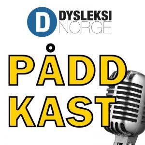 Logoen til Dysleksi Norges podkast