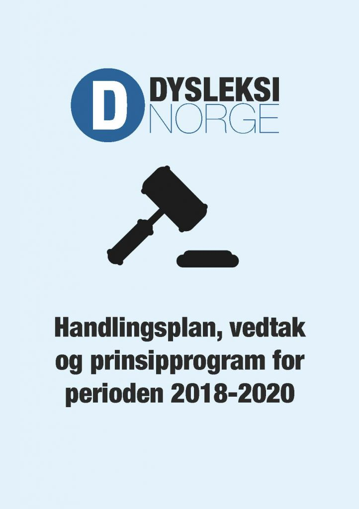 Handlingsplan og prinsipprogram