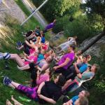 Ungdommer på Dysleksi Ungdom sin sommerleir i 2016