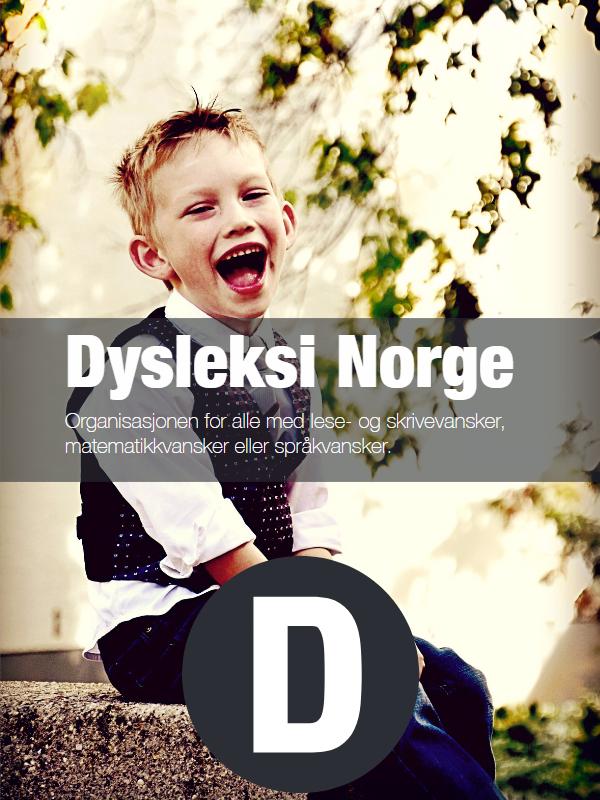 Brosjyre Dysleksi Norge